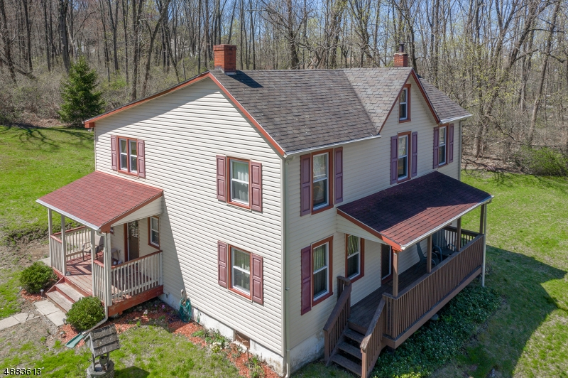Photo of home for sale at 1127 MILFORD-WARREN GLN, Holland Twp. NJ