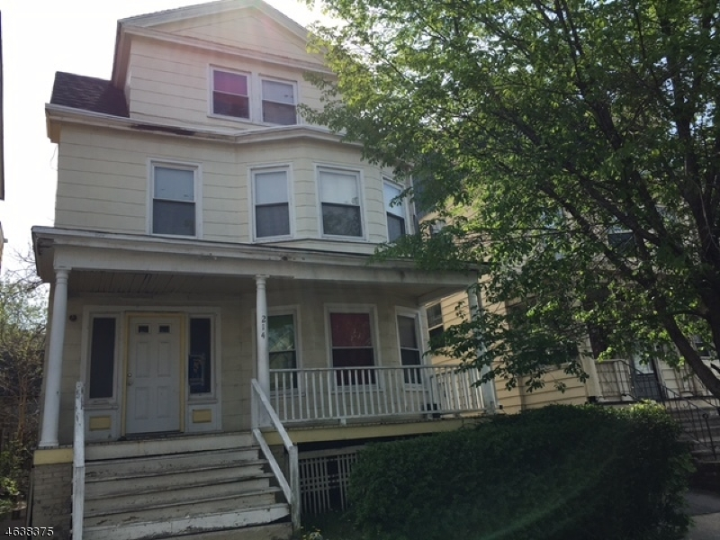 Photo of home for sale at 214 N Maple Ave, East Orange City NJ