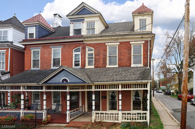 Photo of home for sale at 43 DELAWARE AVE, Lambertville City NJ