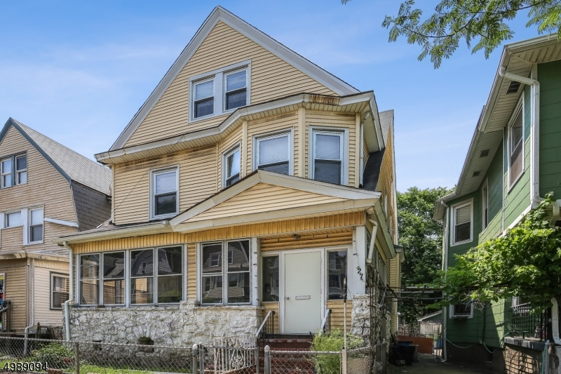 Photo of home for sale at 27 N 17TH ST, East Orange City NJ