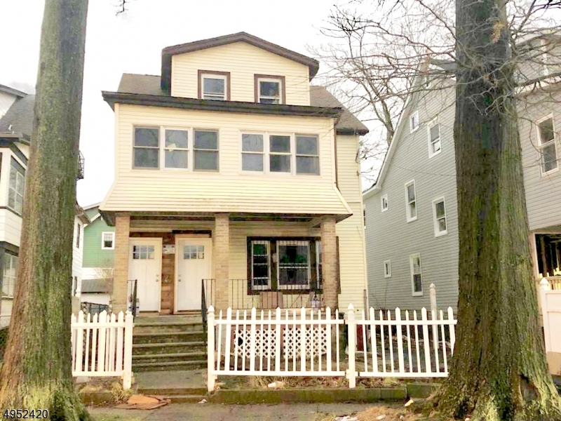 Photo of home for sale at 164 MONTGOMERY AVE, Irvington Twp. NJ