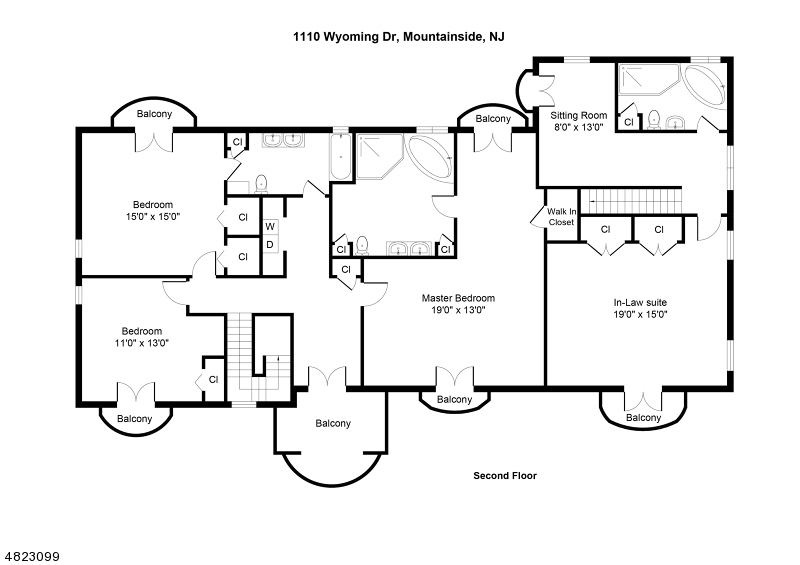 1110 WYOMING DR Mountainside Boro, NJ 07092 - MLS #: 3514332