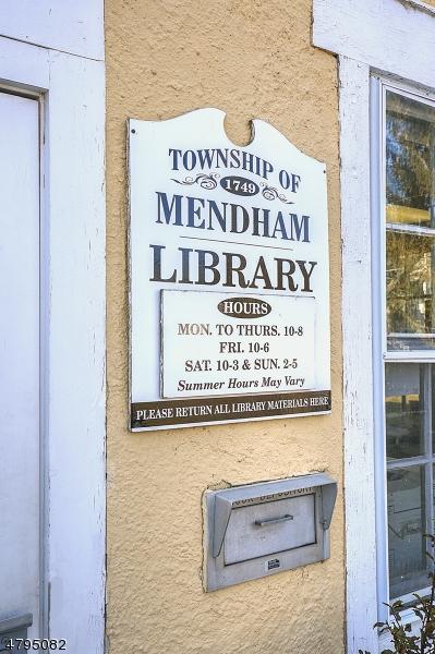 25 E Main St Mendham Twp., NJ 07960 - MLS #: 3463638