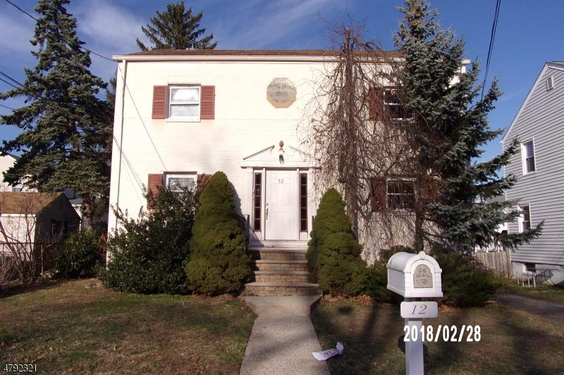 Property for sale at 12 Roosevelt Ave, Cranford Twp.,  NJ  07016