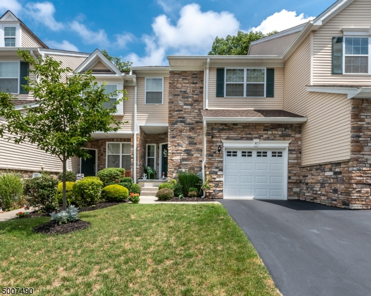 Photo of home for sale at 47 LAMERSON CIR, Mount Olive Twp. NJ
