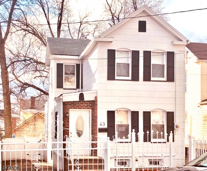 Photo of home for sale at 43 ORANGE AVE, Irvington Twp. NJ