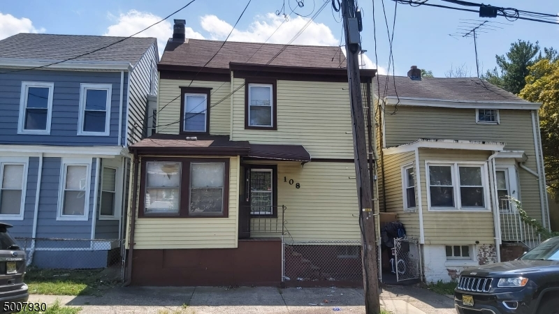 Photo of home for sale at 108 N 9TH ST, Paterson City NJ