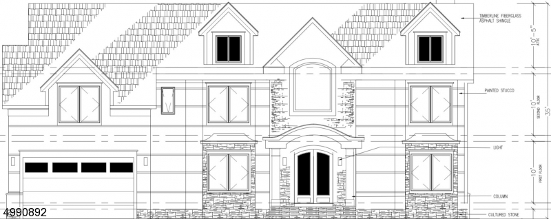 Planned Front Elevation