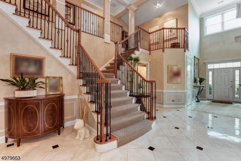 Dramatic Butterfly Staircase