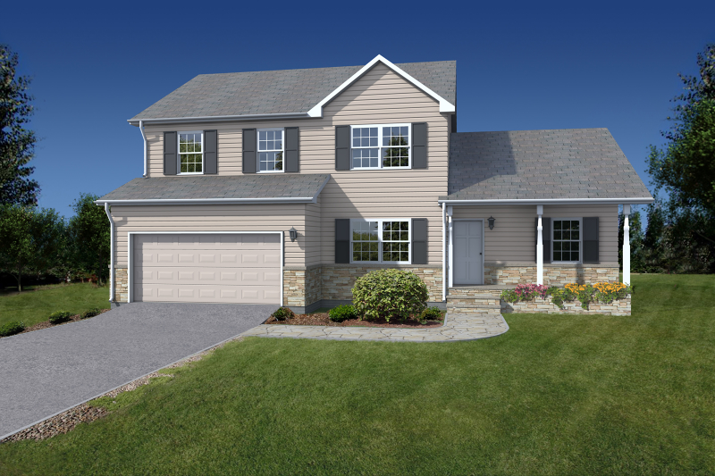 Photo of home for sale at 3 Carriage Ct, Bridgewater Twp. NJ